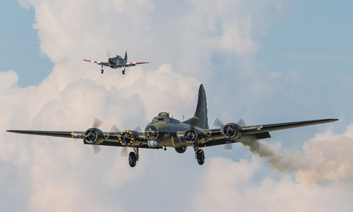 Keeping Sally B airborne