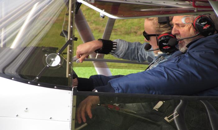 Trig Flying Day gets staff airborne