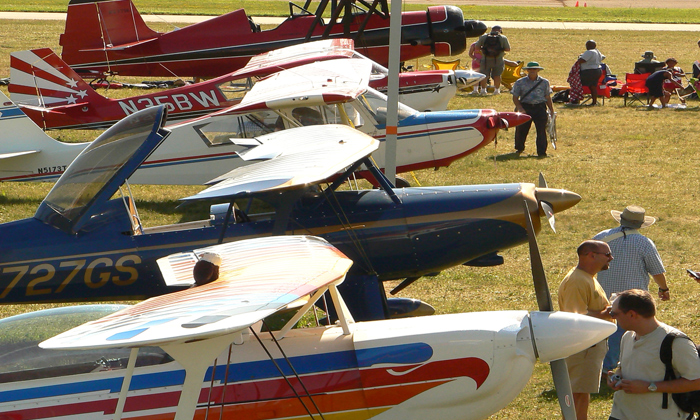 'Stack Up' promotion on Trig products at AirVenture
